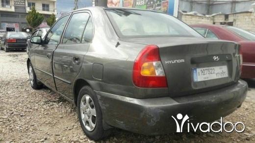 Hyundai in Zahleh - هيونداي اكسنت موديل 2000