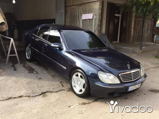 Mercedes-Benz in Tripoli - S320 1999. Enkad. Full mbda chi.