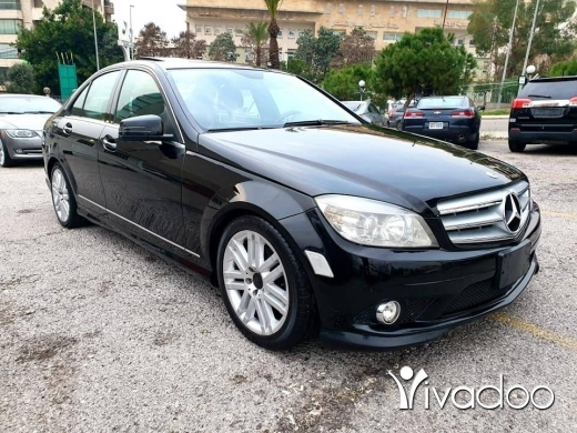 Mercedes-Benz in Beirut City - 2010 C300 black