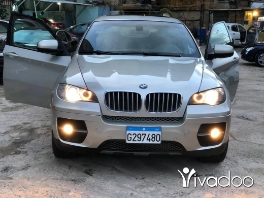 BMW in Beirut City - X6 (2008) 5.0 twin turbo