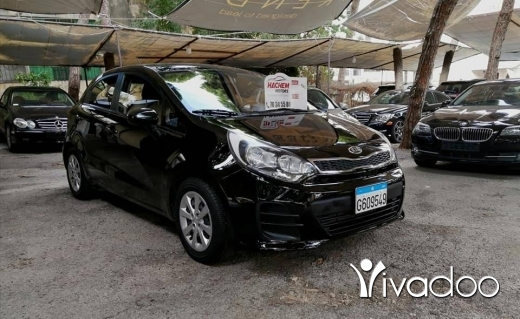 Kia in Beirut City - Kia Rio 2017 black 1.5L 4cyl