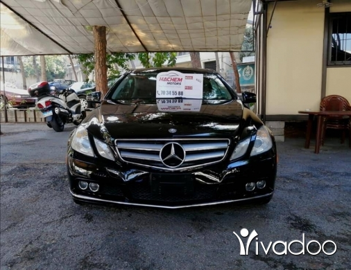 Mercedes-Benz in Beirut City - E350 black 2011 coupe