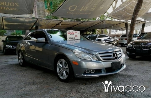 Mercedes-Benz in Beirut City - E350 coupe 2011 Grey