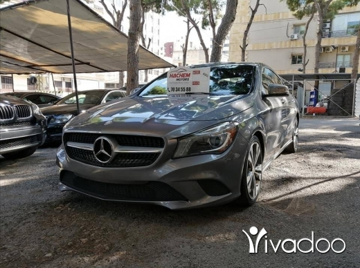 Mercedes-Benz in Beirut City - CLA 250 2014 Gray /black 2.0L 4C T