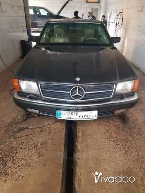 Mercedes-Benz in Beirut City - Mercedes 560sec model 1990