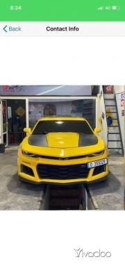 Chevrolet in Zahleh - Camaro rs 2012
