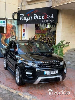 Rover in Beirut City - Range Rover Evoque Dynamic Premium 2014
