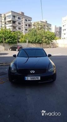 Infiniti in Beirut City - Infinity g35 2003