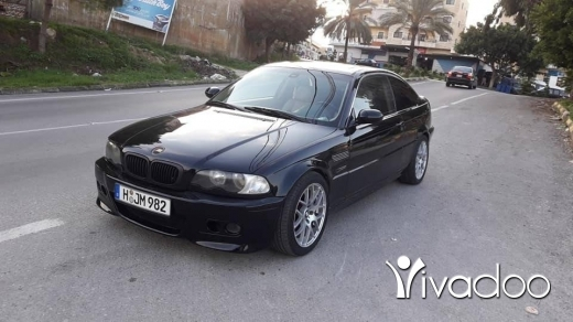BMW in Tripoli - New boy 325i coupe model 2002 look M3