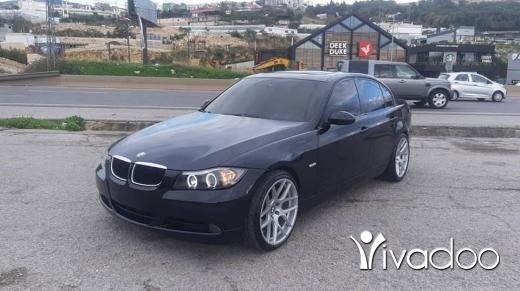 BMW in Port of Beirut - bme e90 2006
