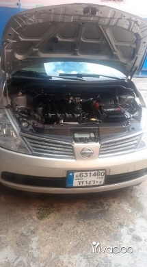 Nissan in Port of Beirut - ٢٠٠٨ عا تسجيل او انكاض موتير فيتاس جداد مكيف تلج سعره عا لبناني ما برد تعليقات بداكش عا شي مناسب