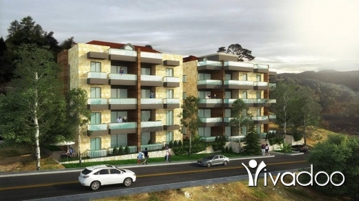 Apartments in Hboub - Apartment In A Calm Area In Hboub For Sale With Panoramic Sea & Mountain view - L01792