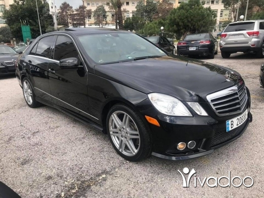 Mercedes-Benz in Beirut City - E350 2010