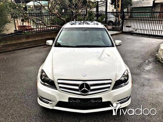 Mercedes-Benz in Beirut City - • Mercedes C250 White/Beige 2012, AMG Sport Package, B…