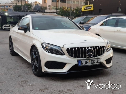 Mercedes-Benz in Beirut City - 2017 C200 Coupe AMG-Line / Like New