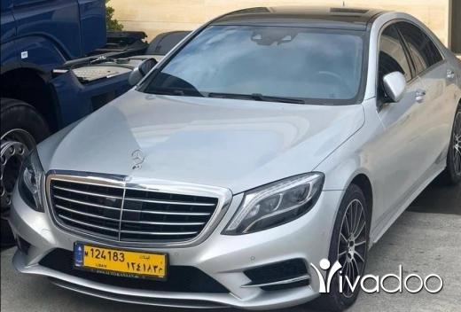 Mercedes-Benz in Beirut City - S400 4matic mod 2014
