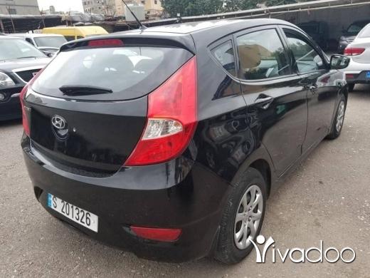 Hyundai in Bourj el Barajneh - Hiunday accent 2014 Full non accident