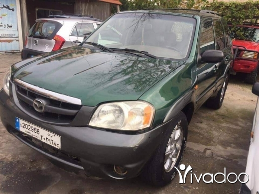 Mazda in Port of Beirut - Mazda 4x4 non accident model 2002