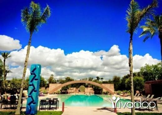 Villas in Cheikh Taba - فيلا راقية للإيجار 5 غرف ماستر بمدينة مراكش المغربية الساحرة