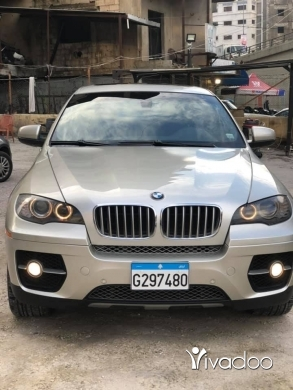 BMW in Beirut City - x6 2008 5.0 twin turbo