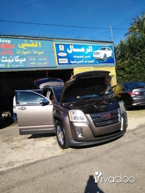 Volvo in Port of Beirut - GMC terrain 2013 special eddition
