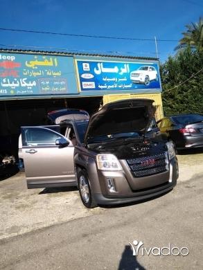 Volvo in Port of Beirut - GMC terrain 2013 special eddition