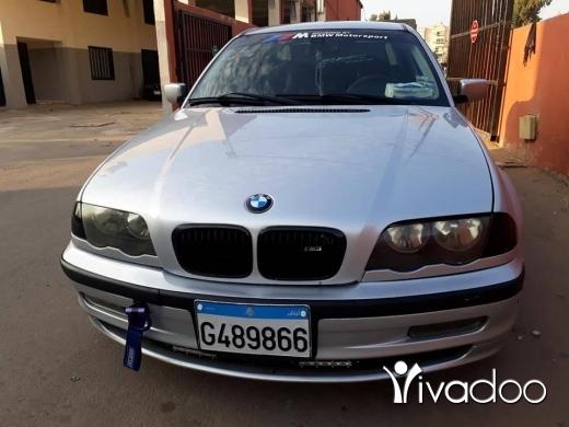 BMW in Port of Beirut - سياره بي ام 318 موتير فيتاس تنظيف مدفوع 2019 كامل المواصفات