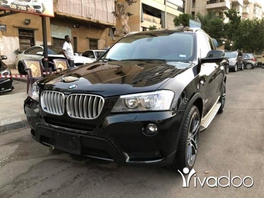 BMW in Beirut City - Bmw x3 3.5L Black 2011
