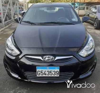 Hyundai in Beirut City - Hyundai accent 2015 56000km full options