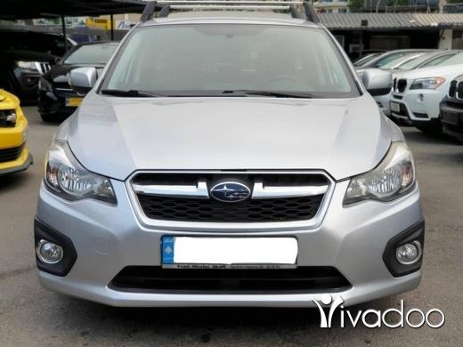 Subaru in Beirut City - 2013 Subaru Impreza 2.0 4WD Fully loaded / USD or LBP