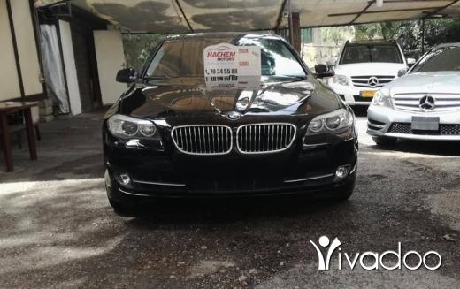 BMW in Beirut City - 528I black /bl 2012 2.0L T 4cyl navi