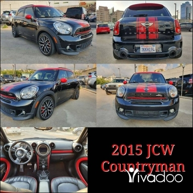 Mini in Beirut City - 2015 JCW Countryman