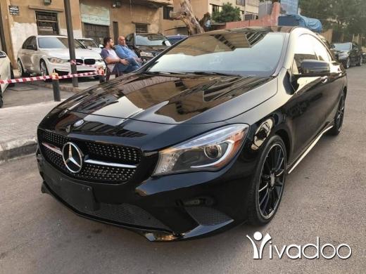 Mercedes-Benz in Beirut City - الدولار عنا ١٥١٥ Cla 250 2014 Black-Black