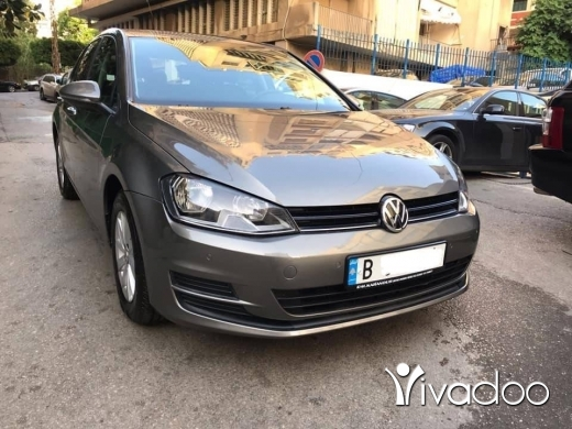 Volkswagen in Beirut City - 2016 VW GOLF