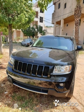 Jeep in Beirut City - Two Jeep Grand Cherokee 2012