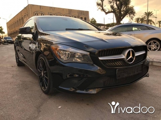 Mercedes-Benz in Beirut City - ClA 250 Black-Black 2014