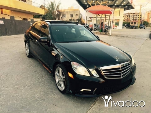 Mercedes-Benz in Tripoli - E350 mod 2011