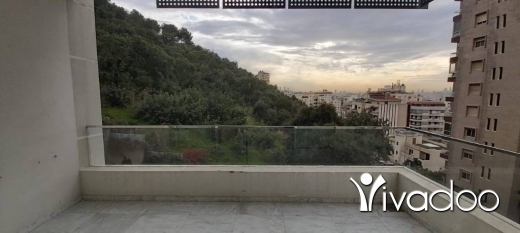 Apartments in Jal el-Dib - A brand new 130 m2 apartment with an open mountain/sea view for sale in Jal El Dib