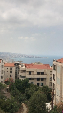 Apartments in kfarhbeib - duplex for sale  with open sea view 150 m