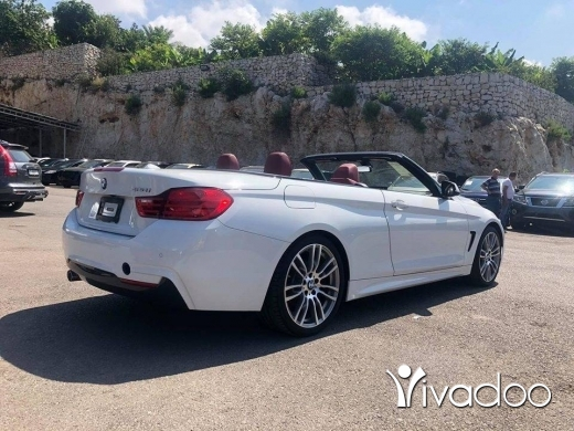 BMW in Beirut City - BMW 428i 2014 White convertible