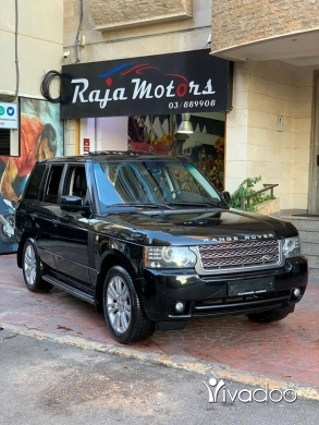 Rover in Beirut City - Range Rover Vogue HSE 2010