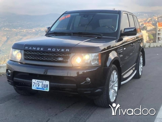 Rover in Beirut City - Rang rover 2010 HSE اجنبي