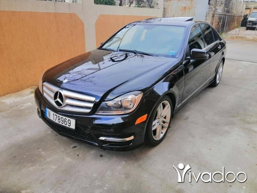 Mercedes-Benz in Chtaura - mercedes C300 look AMG 2012 super clean