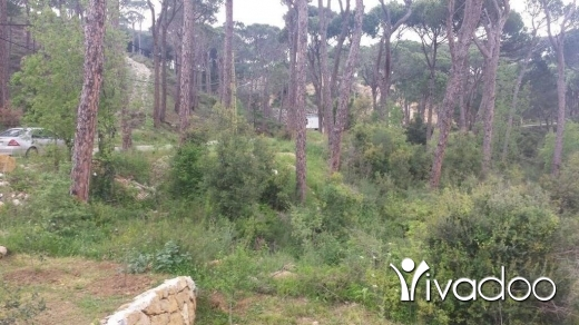 Land in Metn - A 2632 m2 land with an open mountain view for sale in metn