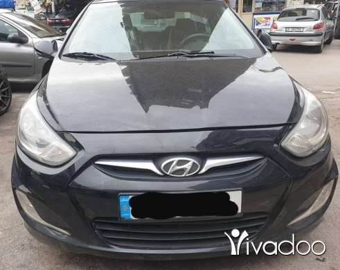 Hyundai in Beirut City - Hyundai accent 2012 .. 11.malyoun