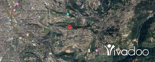 أرض في مظهر - A 630 m2 land for sale in Mezher with an open mountain view