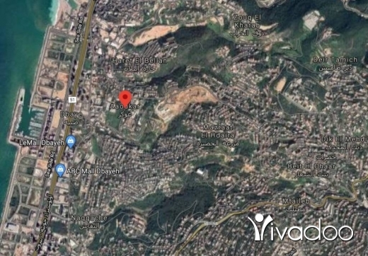 Land in Awkar - A 1000 m2 land for sale in Aoukar