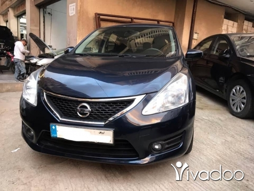Nissan in Beirut City - 2014 nissan tiida full options