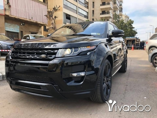 Rover in Beirut City - Range Rover Evoque Dynamic 2013