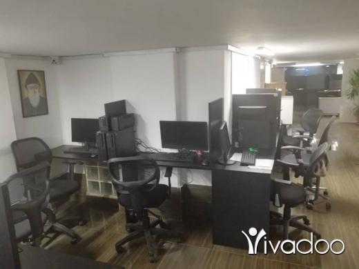 Office in Dekouaneh - L06322 - 130 sqm Fully Furnished open space for Rent in Dekweneh - Sin el Fil